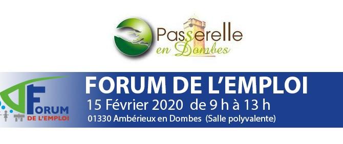 Forum de l'Emploi en Dombes